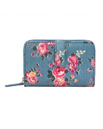 Kingswood Rose Folded Zip Wallet
