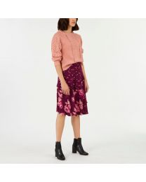 Wimbourne Ditsy Frill  Skirt