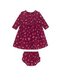 Somerset Spray Baby Frill Pintuck Dress
