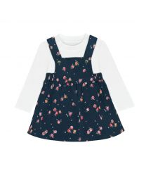 Wimbourne Rose Baby Pinafore and Bodysuit Set