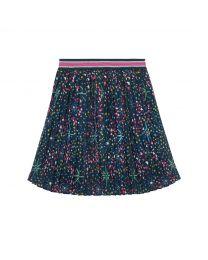 Midnight Stars Pleated Skirt