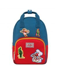 Cowboy Badges Kids Medium Backpack