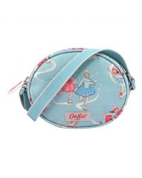 Ice Skaters Kids Oval Handbag