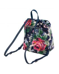 Oxford Rose Small Velvet Backpack