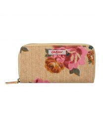 Somerset Rose Continental Zip Wallet
