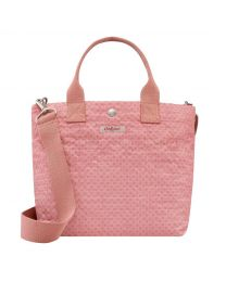 Shadow Flowers Poly Small Tote