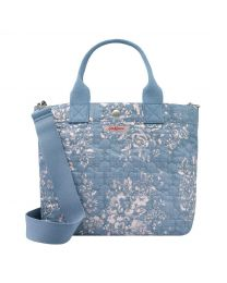 Washed Rose Poly Small Tote