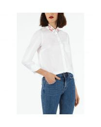 Mayfield Blossom Embroidered Collar Shirt