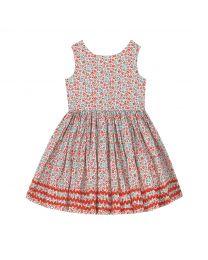 Ashbourne Ditsy Kids Charlotte V-Back Dress