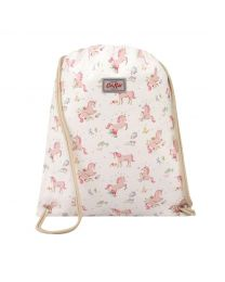 Unicorn Meadow Kids Drawstring Bag