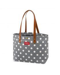 Button Spot Twill Premium Large Tote Bag