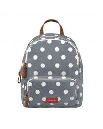 Button Spot Twill Small Premium Pocket Backpack