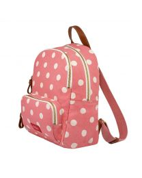 Button Spot Twill Brampton Small Pocket Backpack