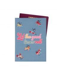 Rollerskates Placement Passport Holder