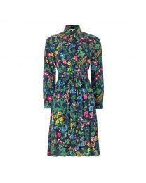 Twilight Garden Shirt Dress