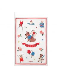 Sporty Dogs Tea Towel
