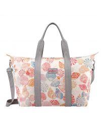 Seaside Shells Foldaway Overnight Bag