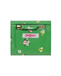 Spaced Bath Flowers Pebble Medium Envelope Wallet