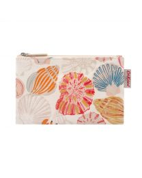 Seaside Shells Zip Purse