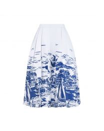 Harbour View A-Line Skirt