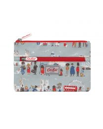 London People Kids Double Zip Pencil Case