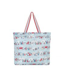 London People Large Foldaway Tote