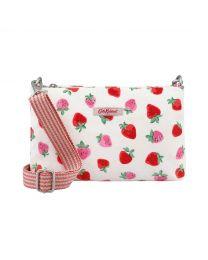 Sweet Strawberry Small Zip Crossbody