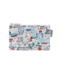 Small London Map Zip Purse