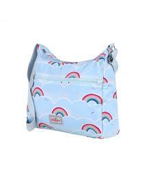 Rainbow Foldaway Foldaway Cross Body Bag