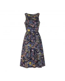 Sunset Toile Sleeveless Dress