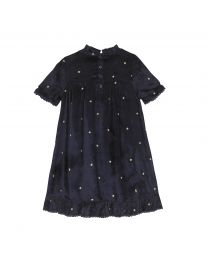 Shooting Stars Kids Velvet Dress