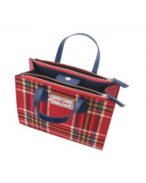 Clarendon Check Grab Cross Body Bag