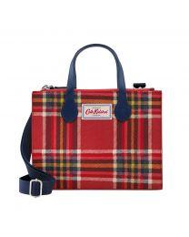 Clarendon Check Grab Cross Body Bag