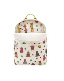 Woodland Bear Foldaway Backpack