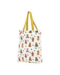 Woodland Bear Small Foldaway Tote