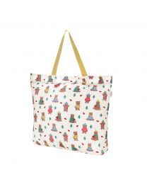 Woodland Bear Large Foldaway Tote