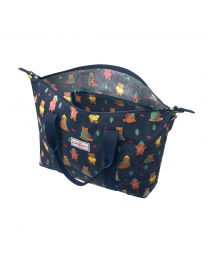 Woodland Bear Foldaway Overnight Bag
