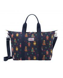Woodland Bear Foldaway Overnight Bag