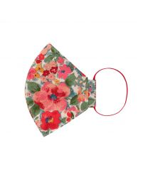 Painted Bloom Face Covering (Adult-Small)