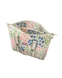Painted Bluebell Foldaway Overnight Bag