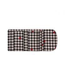 Ladybug Gingham Small Foldover Wallet