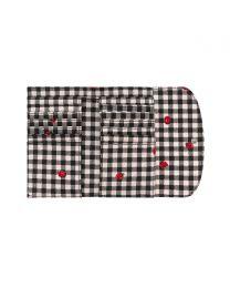 Ladybug Gingham Foldover Wallet