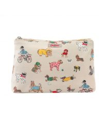 Small Park Dogs Zip Cosmetic Bag