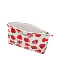 Lovebugs Zip Cosmetic Bag