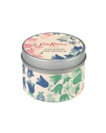 Painted Bluebell Tin Candle