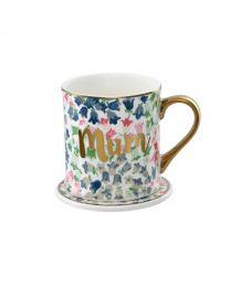 Painted Bluebell Boxed Mug and Coaster