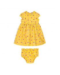 Greenwich Flowers Ditsy Baby Emily Dress