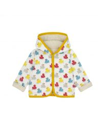 Rubber Duck Baby Hooded Quilted Jacket