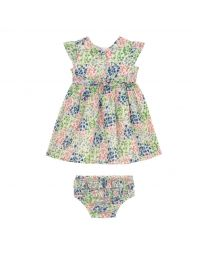 Tiny Painted Bluebell Baby Ayda Dress