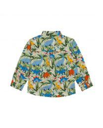 Dinosaur Jungle Kids Long Sleeve Oliver Shirt
